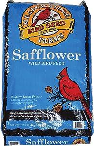 Meadow Ridge Farms Safflower Bird Seed, 20-Pound Bag