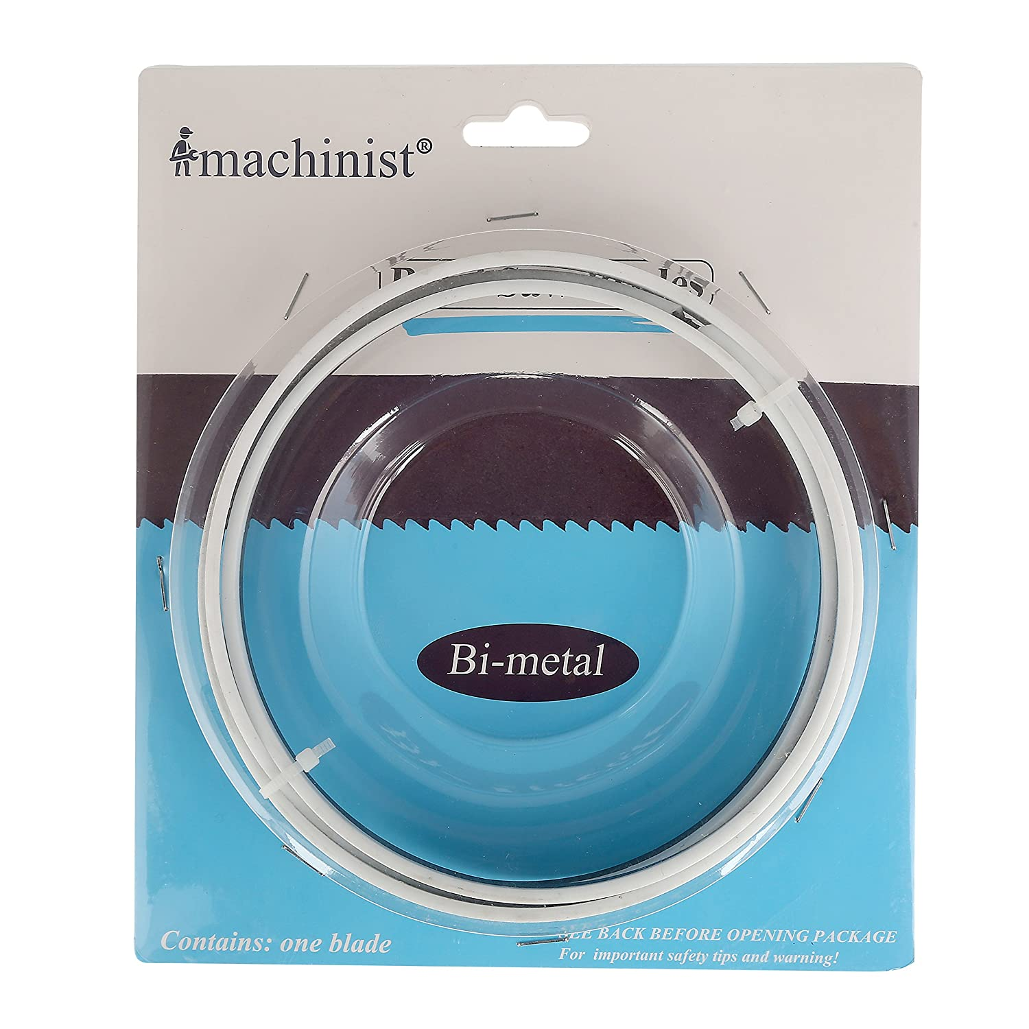 Imachinist S561214 M42 56-1/2-inch By 1/2-inch By 14tpi Bi-metal Bandsaw Blades Metal Cutting