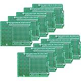 CZH-LABS Electronics-Salon 10PCS Prototype PCB for Arduino UNO R3 Shield Board DIY, Combo 2mm+2.54mm Pitch.
