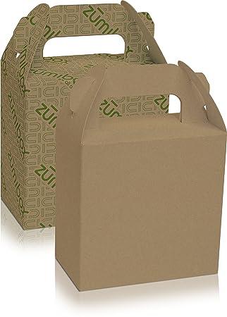 Amazon.com: DIY Customizable Kraft Gable Gift Bag Box Favor Box ...