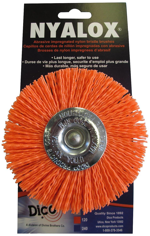 Dico 7200048 4' Medium Nyalox Wire Wheel Brush Dico Products Corporation 541-778-4