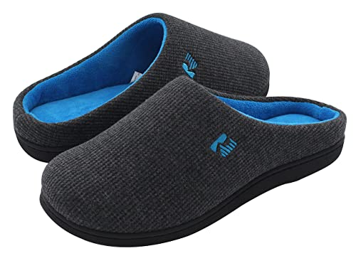 RockDove Memory Foam Slippers with Arch Support for Men