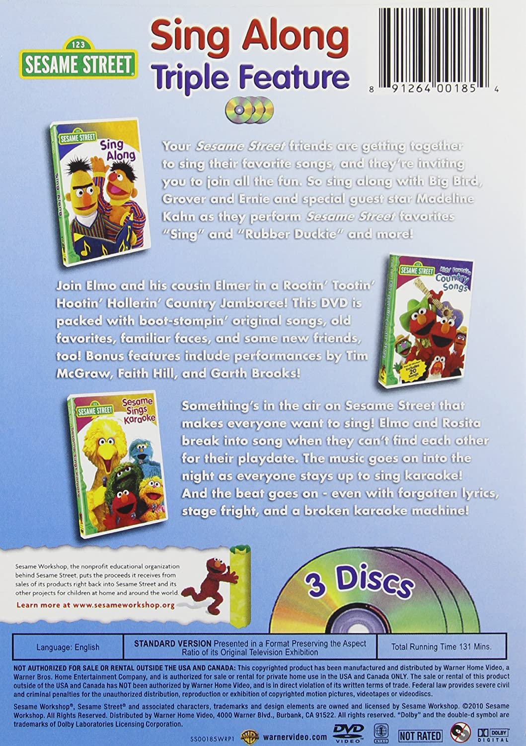 Sesame Street 14 Pack With Platinum All Time Favorites CD Movie HD free download 720p