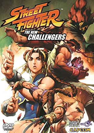 Amazon com: Street Fighter: The New Challengers: Ryu, Chun