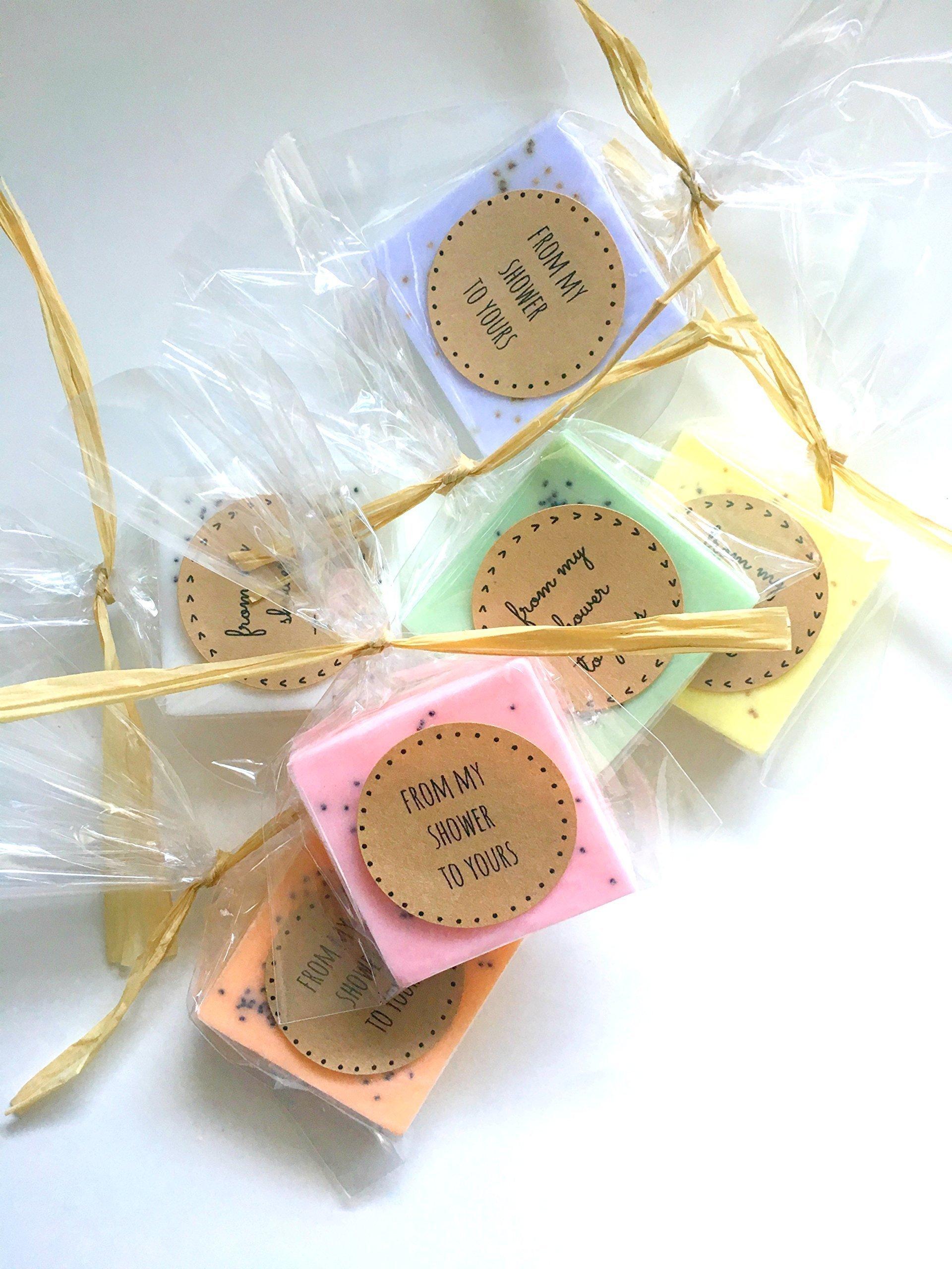50 Wedding Favors: Soap Favors for Wedding Favors, Bridal Shower Favors, or Baby Shower Favors