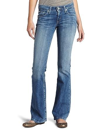 707b17c376e Levis Jeans ® Strauss 518 Bootcut Superlow femmes jeunes-3 couleurs  différentes, 9 x