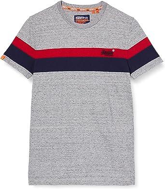TALLA XL. Superdry OL Classic Yd Stripe tee Camiseta para Hombre