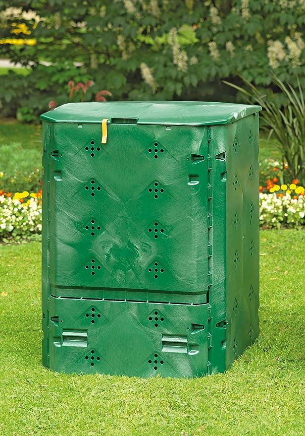 Juwel BIO 600 - Compostador, 77 x 77 x 100 cm, verde: Amazon ...