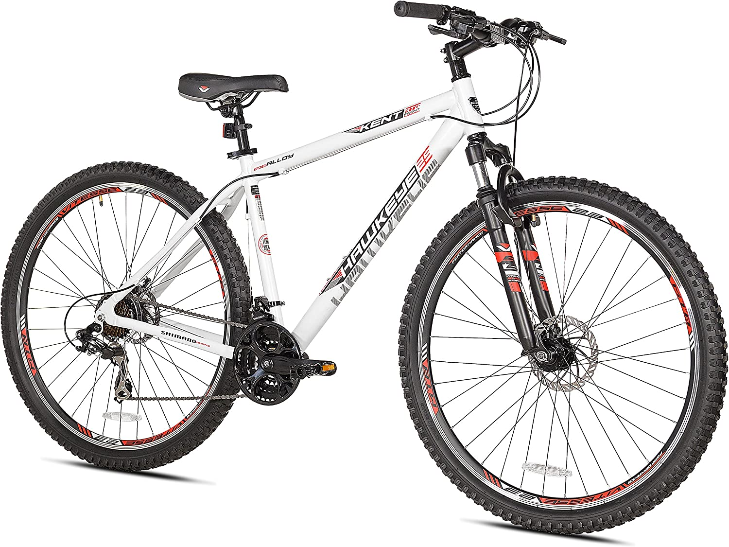 "Kent Hawkeye Mountain Bike, 29"", Grey/Green, 18.5""/One Size"