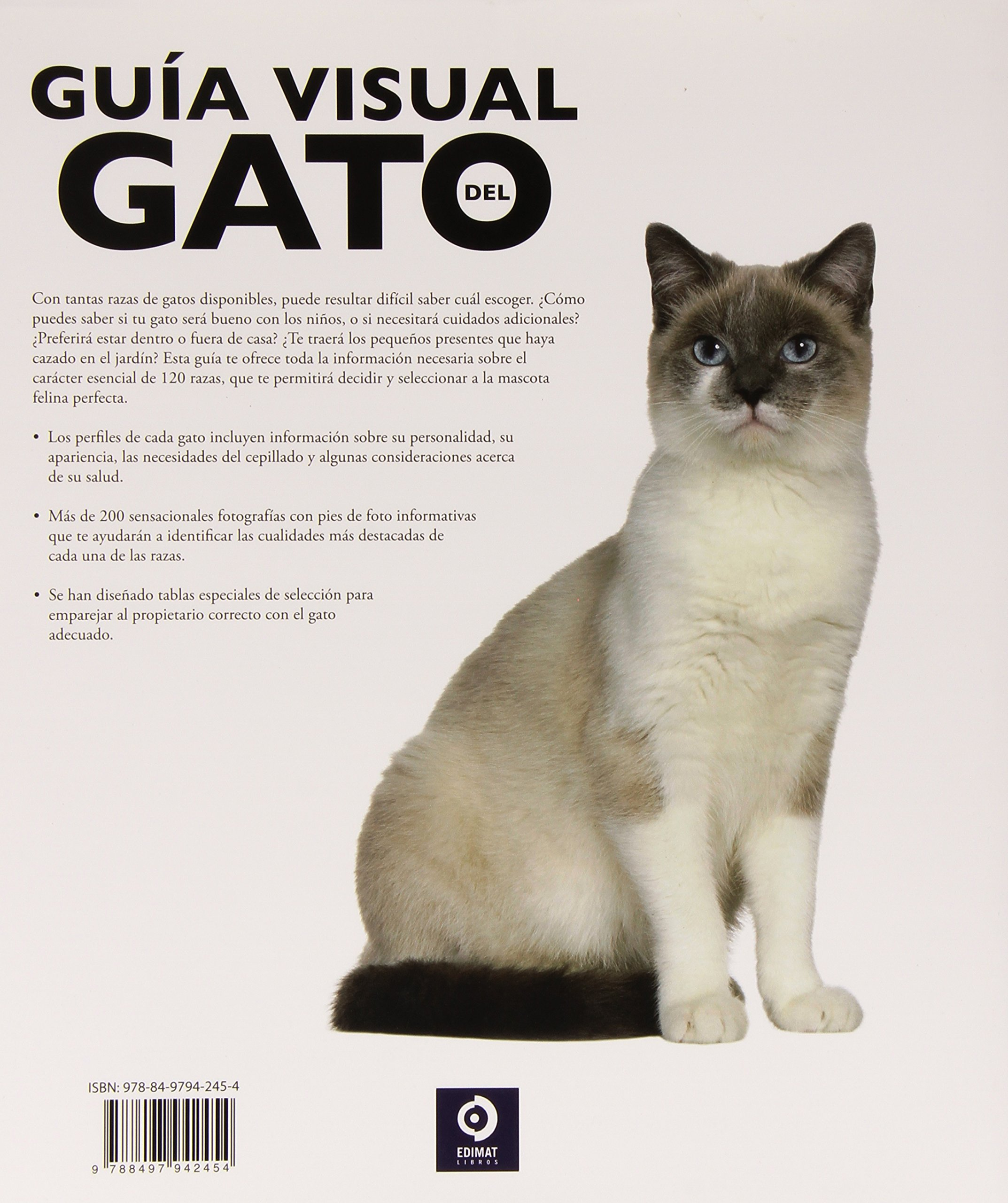 Guía visual del gato: como escoger al gato adecuado: DAVID ALDERTON: 9788497942454: Amazon.com: Books