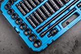 Capri Tools 1/2-Drive Deep Impact Socket Set with