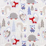 Trend Lab Winter Forest Deluxe Flannel Fitted Crib