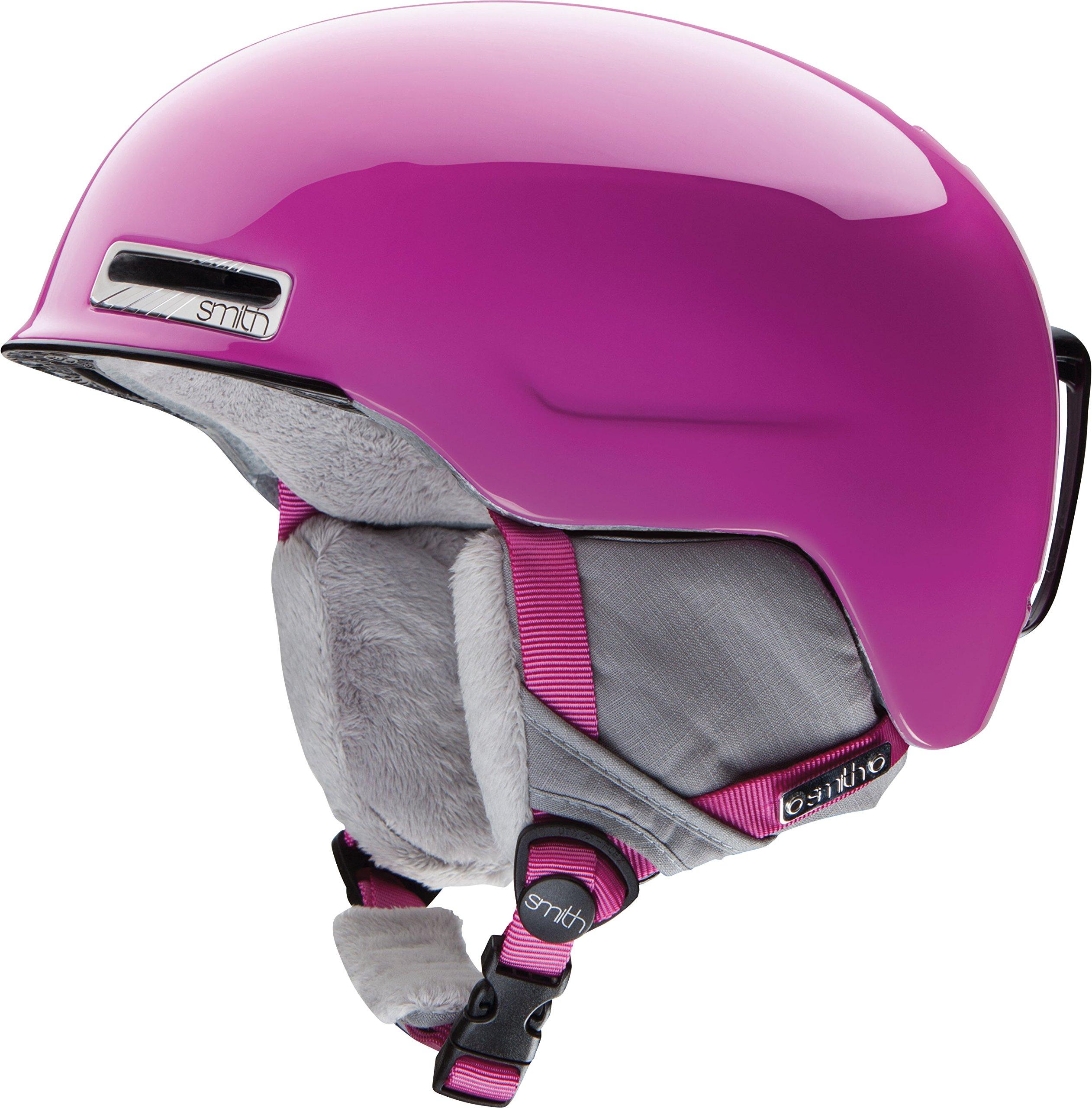 Smith Optics 2015 Women's Allure Winter Snow Helmet (Magenta - L 59-63CM)