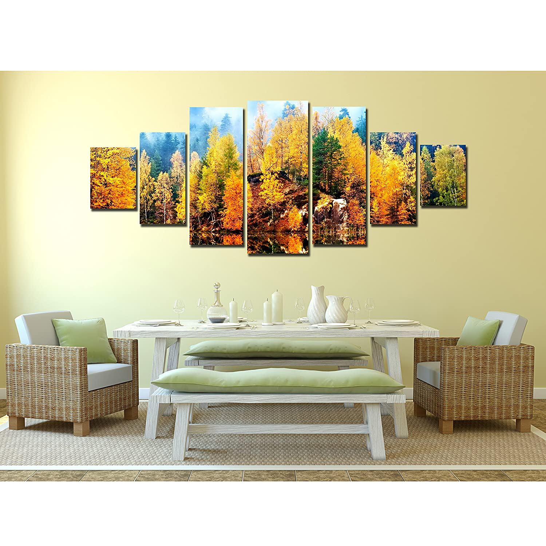 Amazon.com: Startonight Glow in the Dark, Huge Canvas Wall Art ...