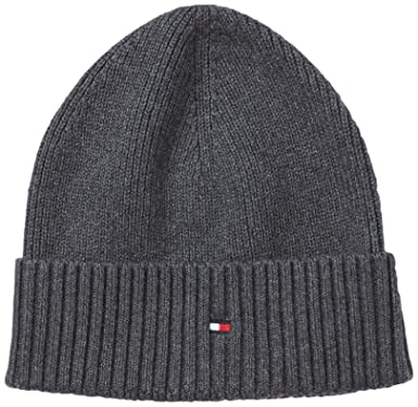 247fa279db7 Tommy Hilfiger Men s Hat - Grey - Grau (093 CHARCOAL HTR) - One size ...