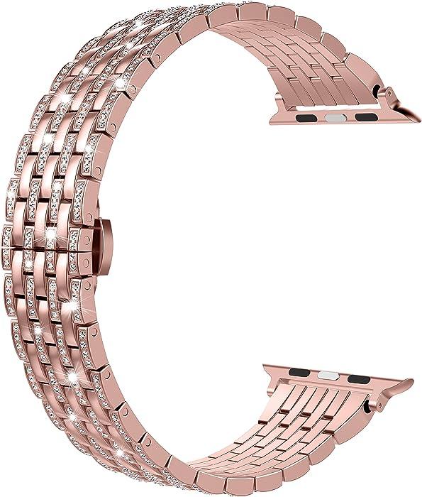 Top 10 Rosegold Navy Apple Watch