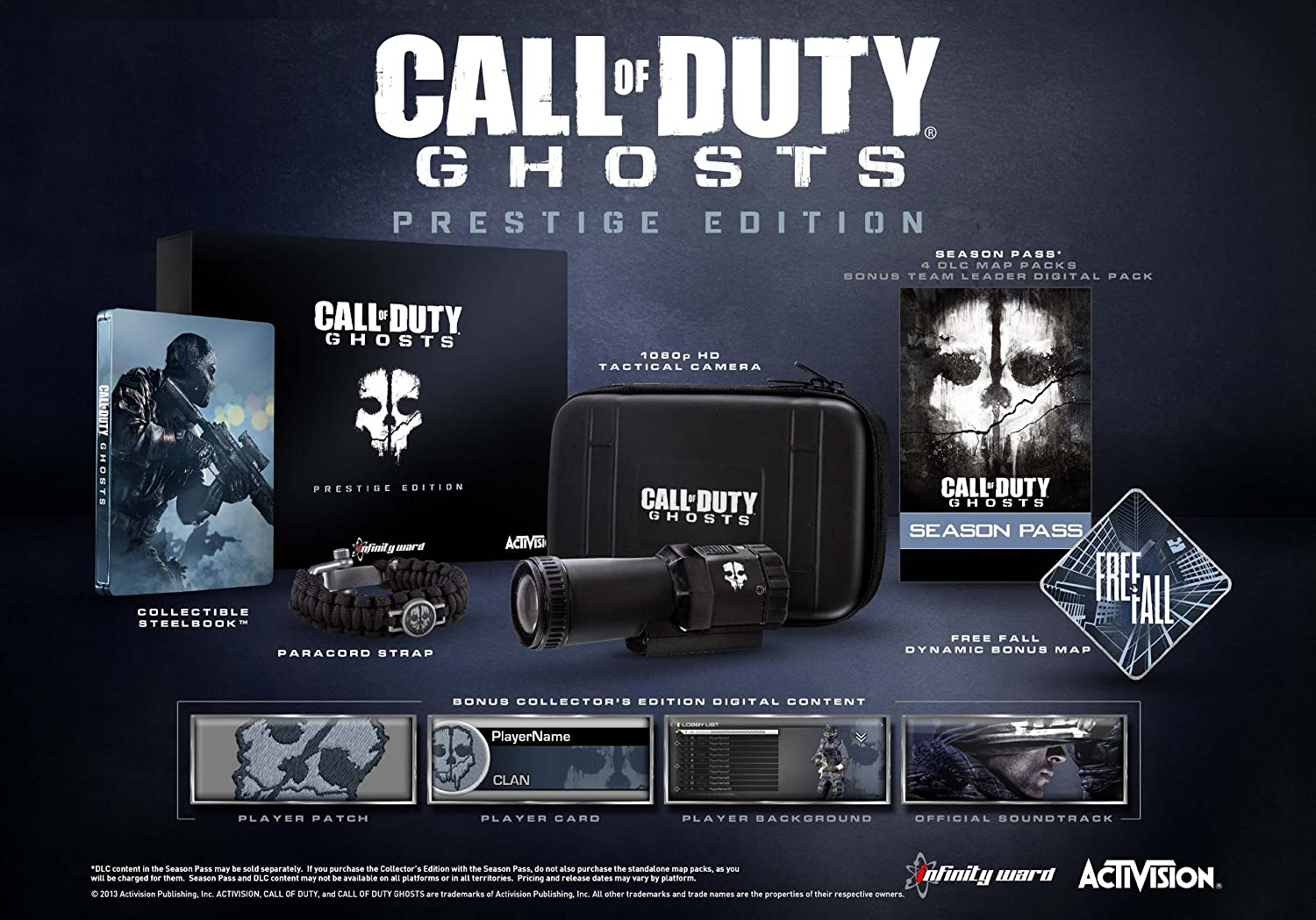 Amazon.com: Call of Duty: Ghosts Prestige Edition - Xbox 360: Video on