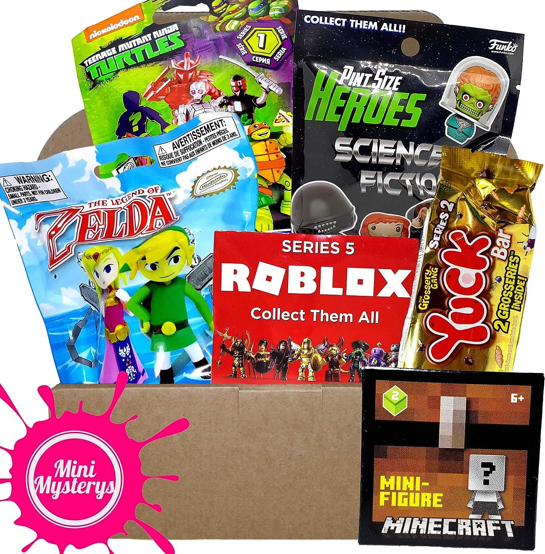 Zelda Roblox Grossery Gang Blind Boxes BOYS TOYS GIFT BUNDLE inc Minecraft