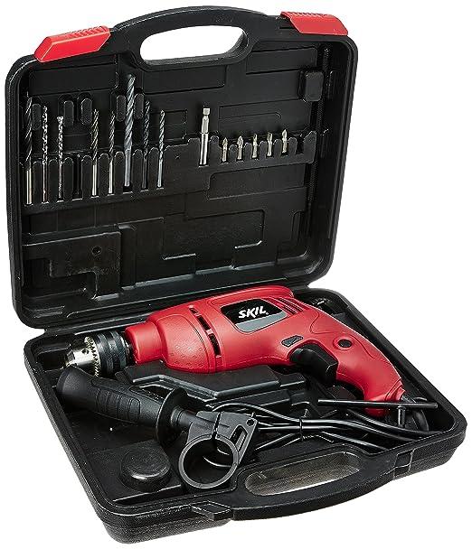 Skil 6513 JD 13mm Drill Kit with 15-Pieces Drill Bits