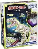 Clementoni - 52068- Figurine Dinosaure - Tyrannosaure Fluorescent