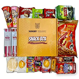 Asian candy box (24 count kit) Korean snacks box, Variety of cookies Korean snacks and candy box set , Japanese candy assortment & gift, Korean candy box, Foriegn snack surprise basket sweets,24 Pack