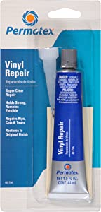 Permatex 81786 Super Clear Vinyl Sealant Repair Kit, Single Unit