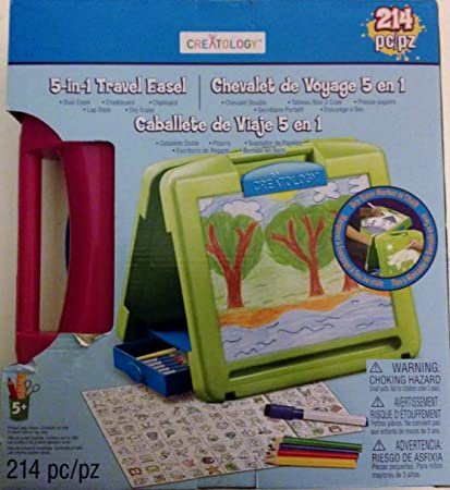 Amazon.com: Creatology 5-in-1 Travel Easel, 214 Piece: Toys & Games