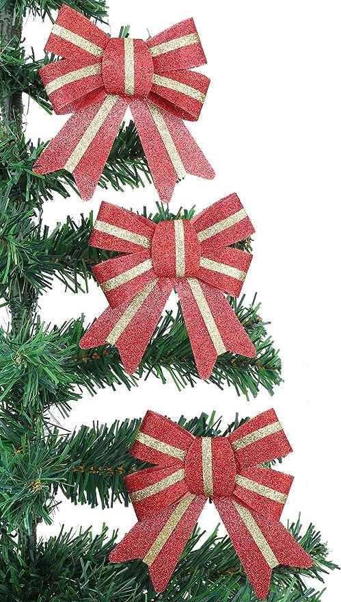 Christmas Concepts® Pack of 3 - Arcos de Navidad de 10 cm Que se ...