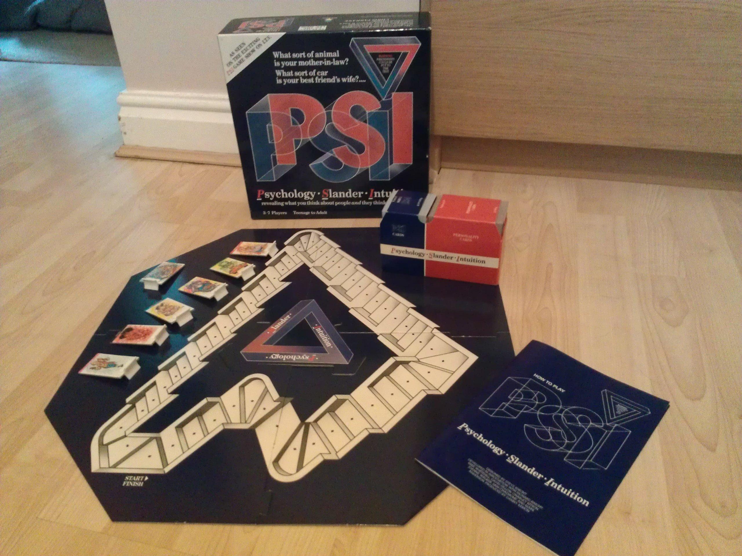 PSI Psychology Slander Intuition