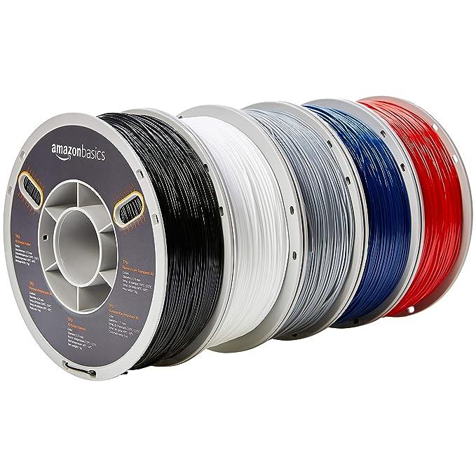 AmazonBasics – Filamento de TPU para impresora 3D, 1,75 mm ...