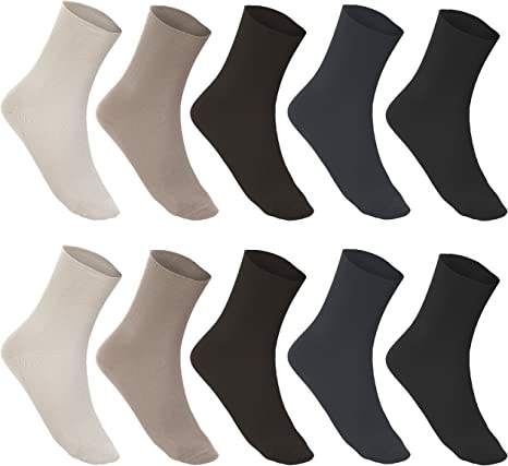 1-50 Socken Damen Baumwolle sortiert Diabetiker weich Gr 35 36 37 38 39 40 41 42