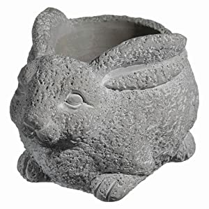 Classic Home and Garden 9/3442/1 Cement Buddies Planter, Large Natural