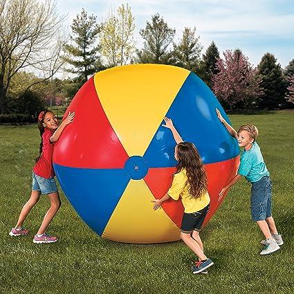 Amazon.com: fe-otc gigante Jumbo Vinilo pelota hinchable de ...