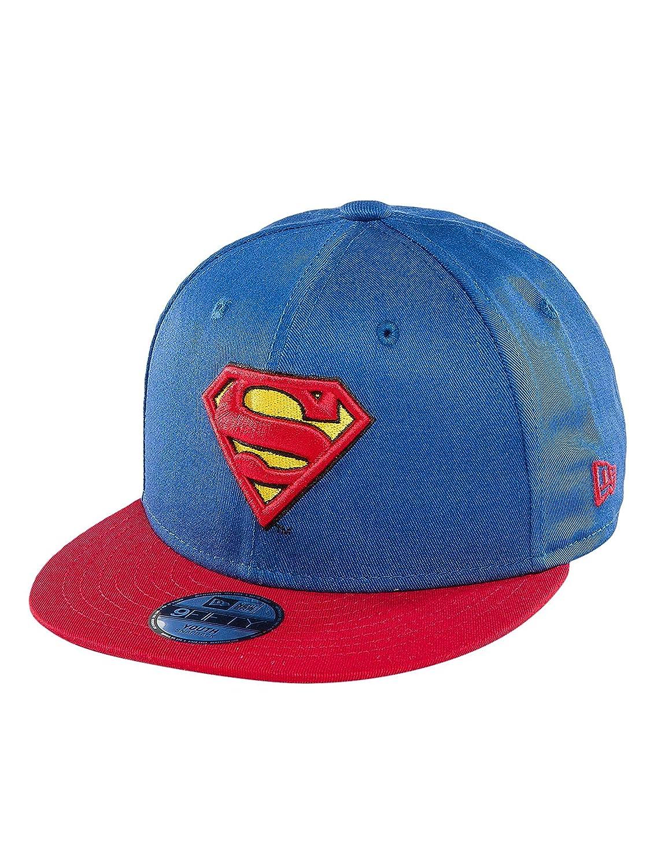 New Era Unisex-Kinder Caps/Snapback Cap Hero Essential Superman Black 6-12 Years 80469059