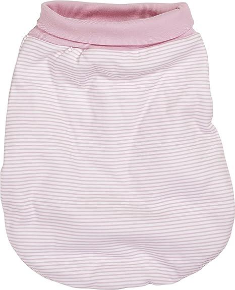praktischer Pucksack mit elastischem Umschlag-Bund Schnizler Baby Strampelsack aus Nicki