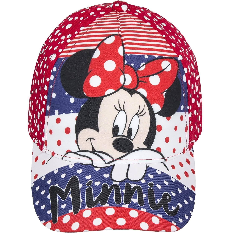 Disney - Gorra Infantil de Minnie Mouse (54cm) (Rojo): Amazon.es ...