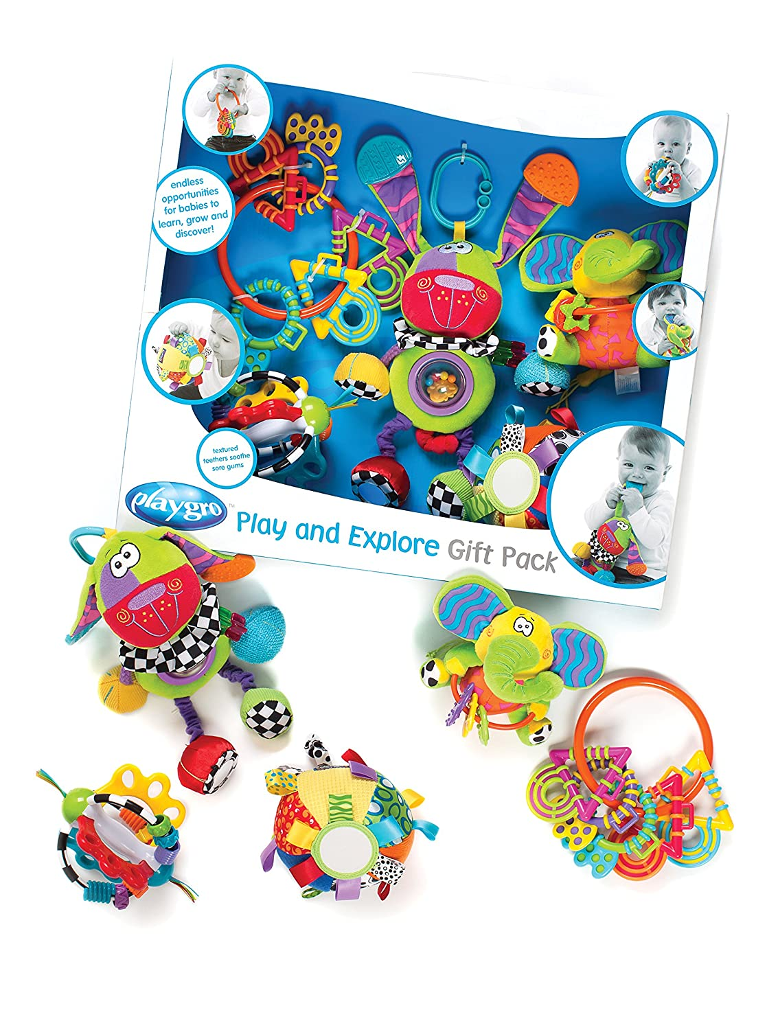 Amazon playgro 0183497 play and explore gift pack for baby amazon playgro 0183497 play and explore gift pack for baby baby negle Image collections