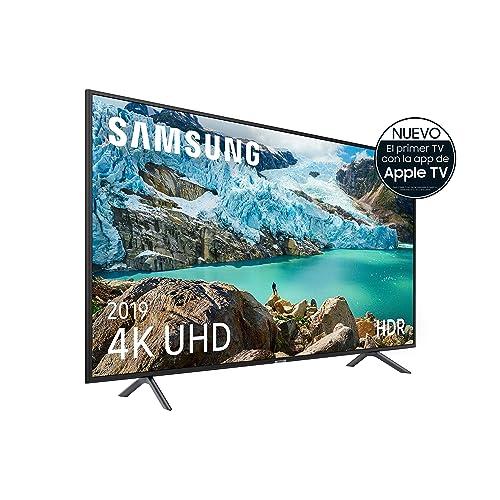 Samsung 4K UHD 2019 75RU7105 Smart TV de 75 con Resolución 4K UHD Ultra Dimming HDR HDR10 Procesador 4K One Remote Experience Apple TV y Compatible con Alexa