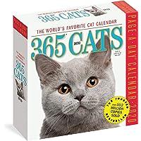 365 Cats Colour Page-A-Day Calendar 2020