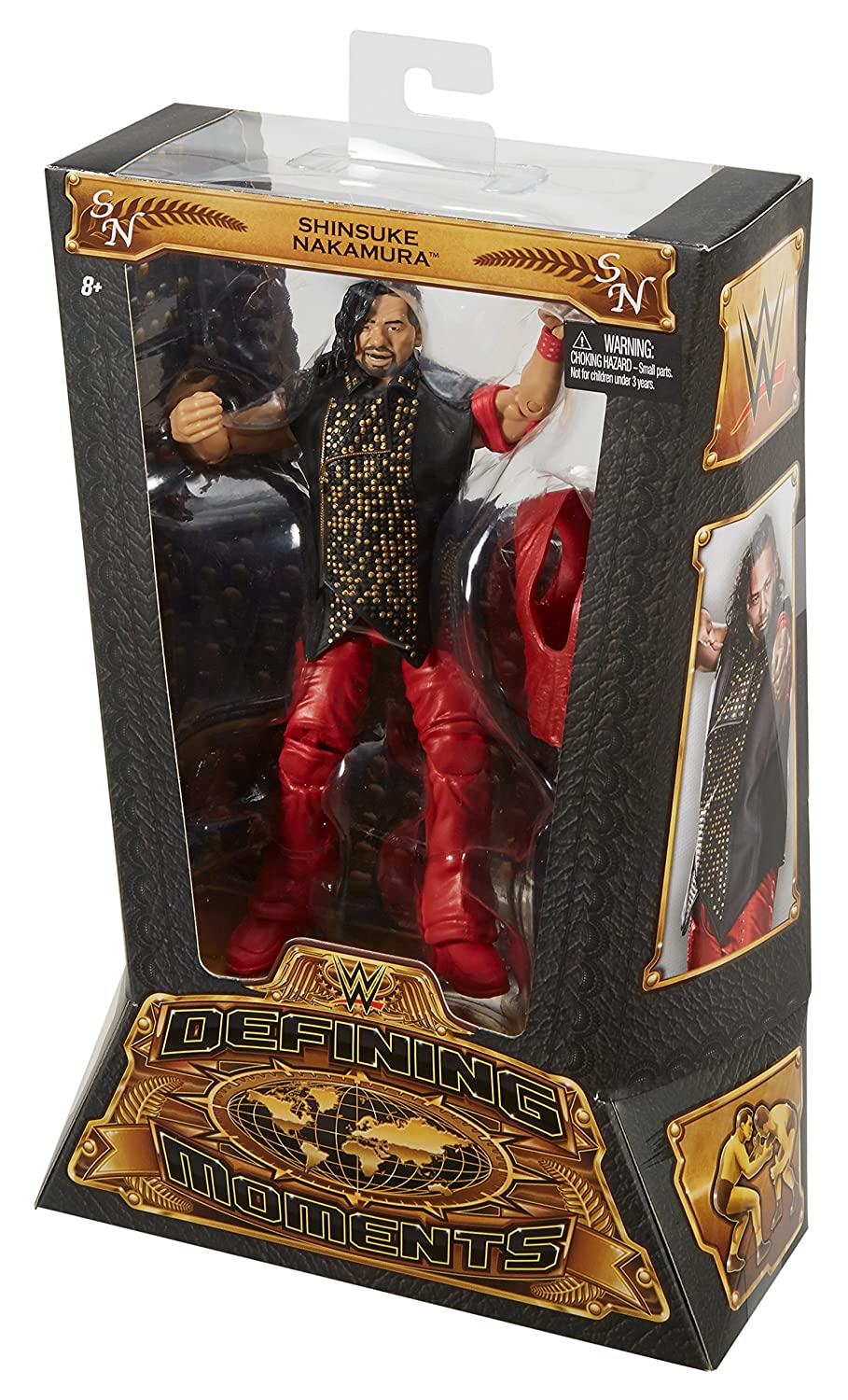 6 Pack WWE Stackdown Series 1 Assorted Buildable Figure