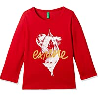 United Colors of Benetton Girls' Long Sleeve Top