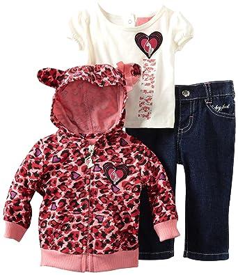 Baby Phat Clothes Classy Amazon Baby Phat Kids Babygirls Newborn Print Hoodie And