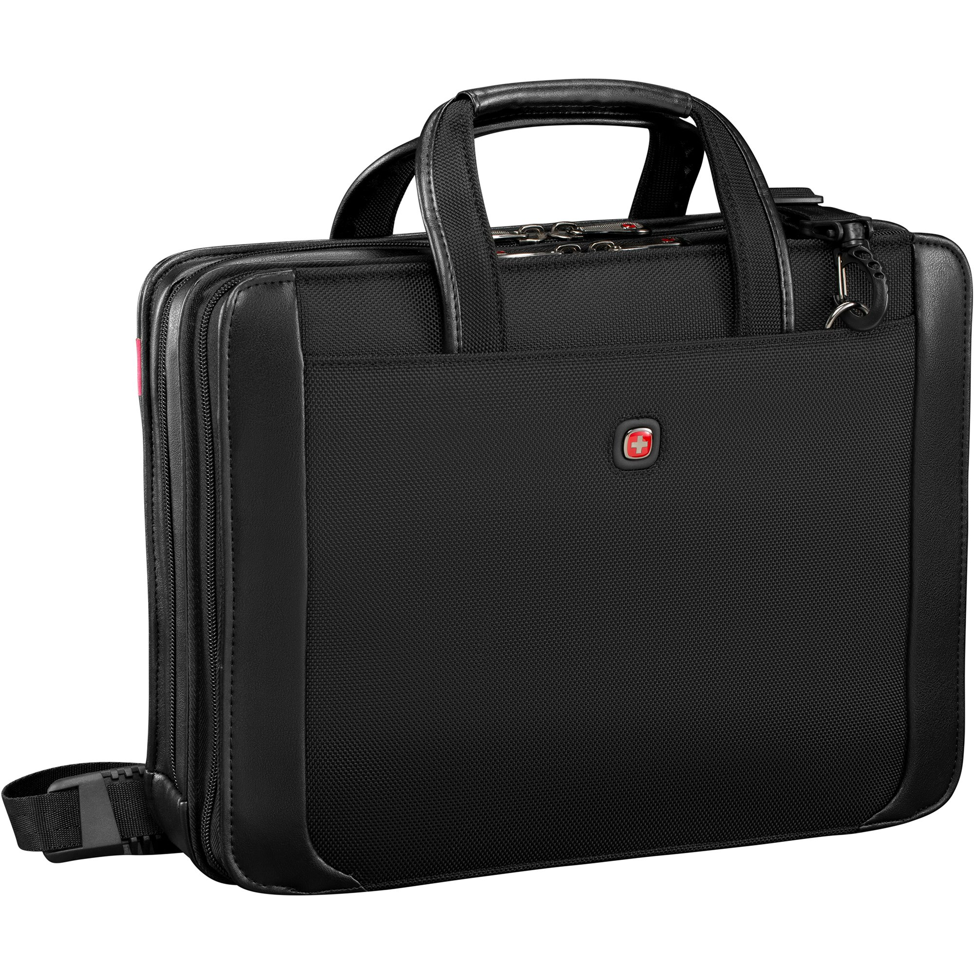 Wenger Luggage Proxy 14'' Zippered Laptop Presentation Padfolio, Black by Wenger