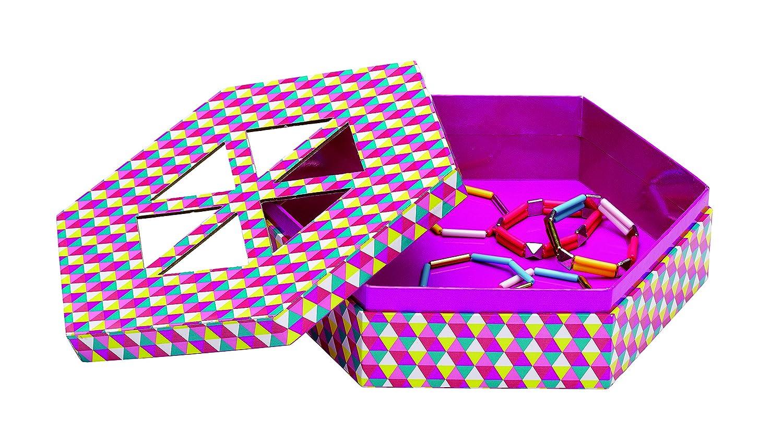 Geometric Jewellery Making Kit ToyMarket West DesignCFK1161 Creativity For Kids
