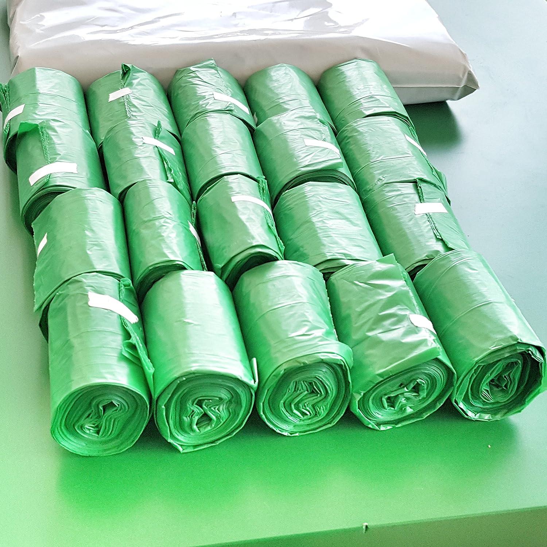 300 bolsas Premium Biodegradables para residuos de perro I Bolsas ...
