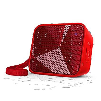 Philips BT110R/00 Splash-Proof Wireless Portable Bluetooth Speaker (Red)