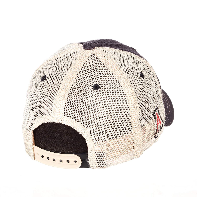Adjustable Team Color//Stone Wash NCAA Zephyr Arizona Wildcats Mens Destination Relaxed Hat