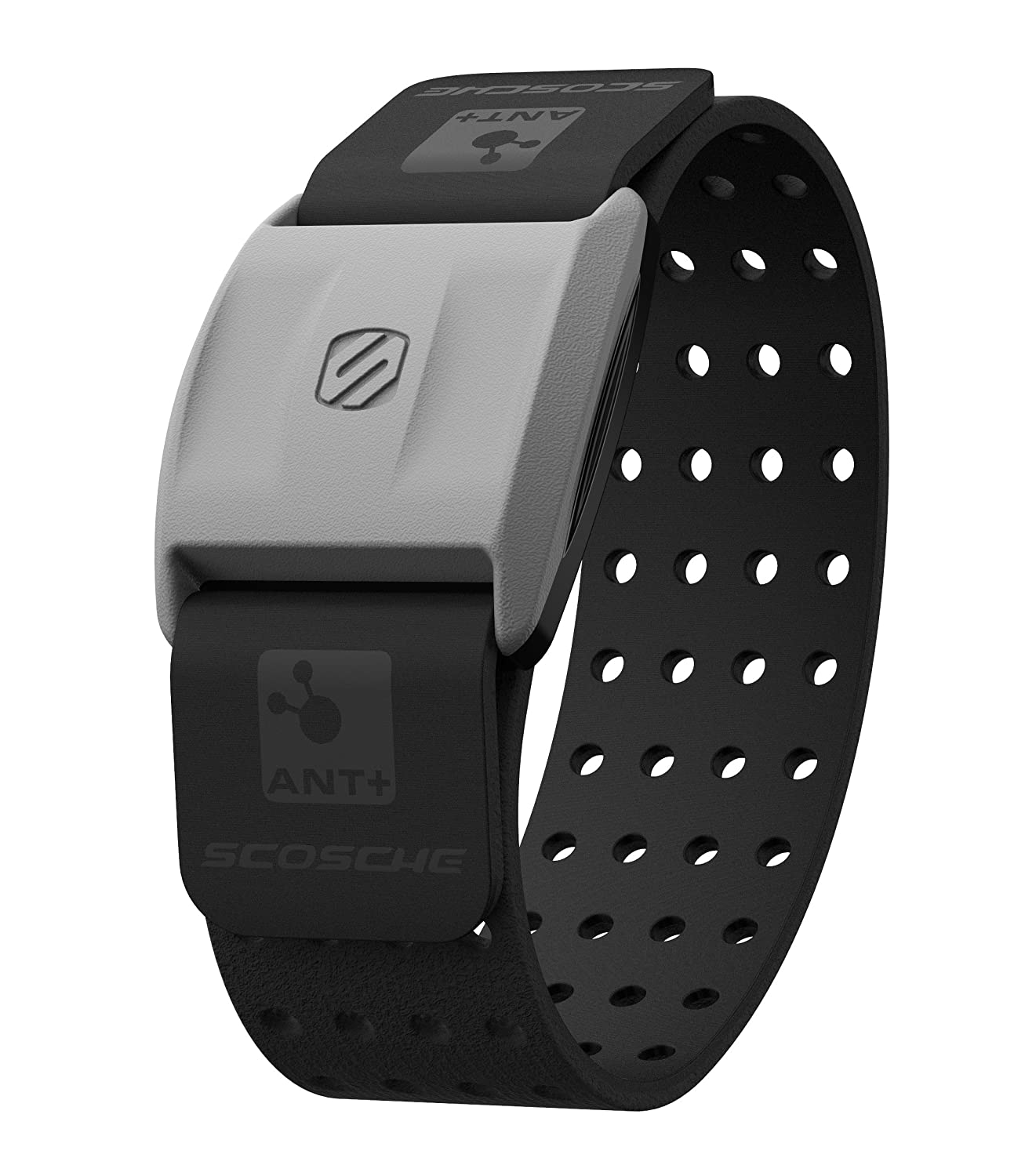 and Bluetooth Smart Black RTHM1.9 Heart Rate Monitor Armband Scosche RHYTHM Optical Heart Rate Armband Monitor With Dual Band Radio ANT