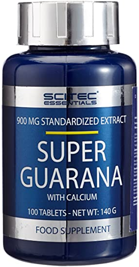 Scitec Nutrition Super Guarana con Calcio 100 tabletas
