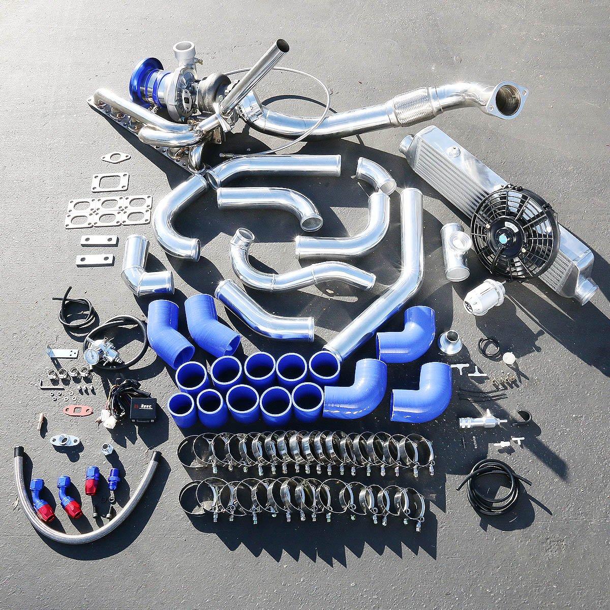 BMW Serie 3 E36 alto rendimiento 15pcs GT35 Turbo Upgrade Kit de instalación: Amazon.es: Coche y moto